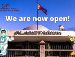 LOOK: Planetarium Exhibition Hall Reopens This Week